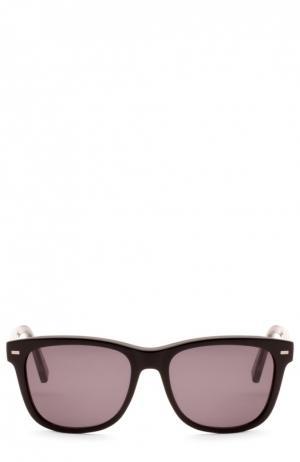 Очки солнцезащитные Ermenegildo Zegna. Цвет: бесцветный