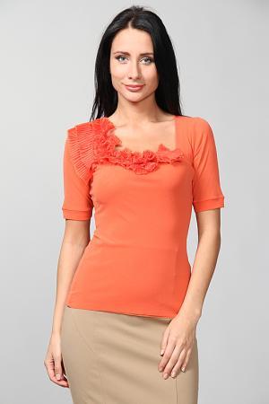 Блуза D.Exterior. Цвет: оранжевый