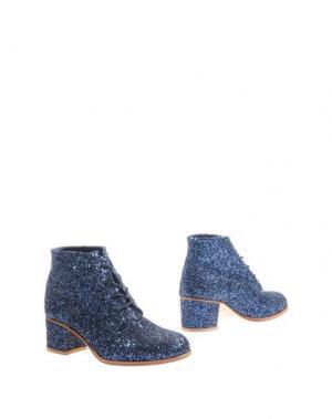 Полусапоги и высокие ботинки L'F SHOES. Цвет: синий