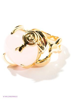 Кольцо Migura. Цвет: розовый, золотистый