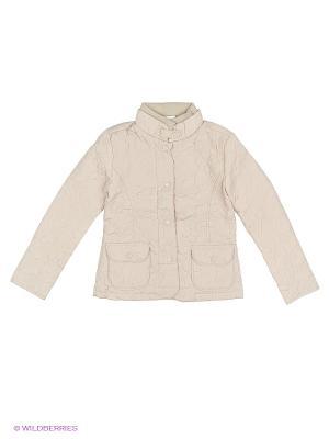 Куртка JERRY JOY. Цвет: молочный