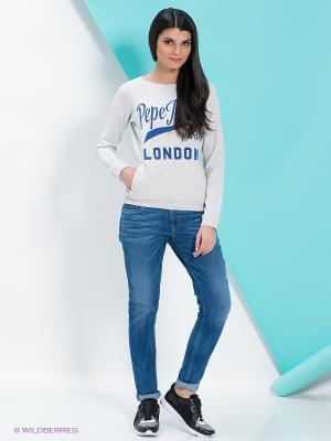 Джинсы PEPE JEANS LONDON. Цвет: синий