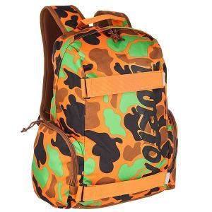 Рюкзак спортивный детский  Emphasis Duck Hunter Camo Burton. Цвет: оранжевый,коричневый,зеленый,черный