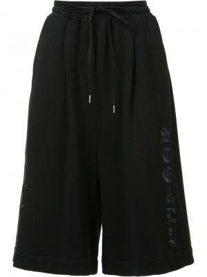 Укороченные брюки Maison Mihara Yasuhiro. Цвет: чёрный