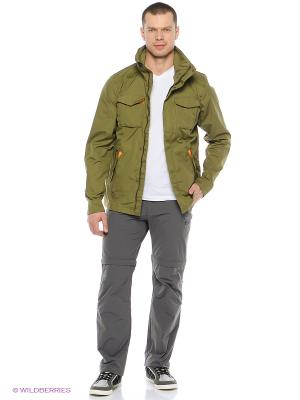 Куртка Bergans. Цвет: хаки