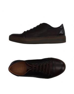 Низкие кеды и кроссовки SUTOR MANTELLASSI. Цвет: темно-коричневый