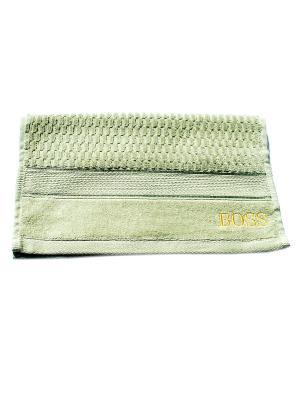 Полотенце Boss 40х70 La Pastel. Цвет: зеленый