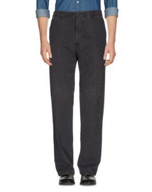 Повседневные брюки MARLBORO CLASSICS. Цвет: свинцово-серый