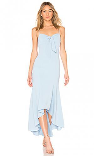 Вечернее платье calhoun LIKELY. Цвет: нежно-голубой