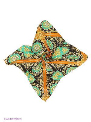 Платок Shapkoff. Цвет: черный, зеленый