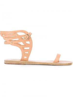 Сандалии Ikaria Lace Ancient Greek Sandals. Цвет: телесный