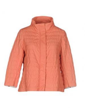 Куртка VINTAGE DE LUXE. Цвет: лососево-розовый
