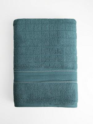 Полотенце A and C Collection. Цвет: темно-зеленый