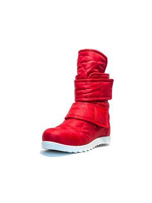 Зимние ботинки AZ-ART. Цвет: красный