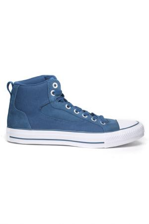 Полуботинки Converse. Цвет: синий