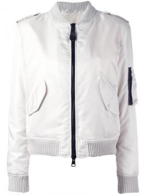 Куртка-бомбер на молнии As65. Цвет: телесный