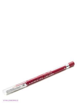 Контурный карандаш для губ Lumene Wild Rose  №4 Розово-красный, 1,1 гр. Цвет: красный