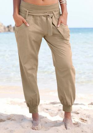 Пляжные брюки Otto. Цвет: коричневый