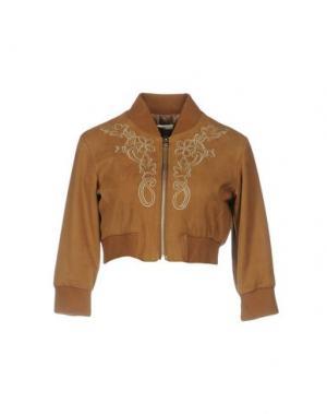 Куртка GIORGIA & JOHNS. Цвет: коричневый