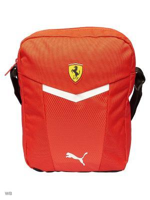 Сумка Ferrari Fanwear Portable Puma. Цвет: красный