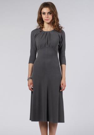 Платье Evercode. Цвет: серый