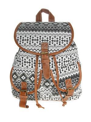 Рюкзак Olere. Цвет: белый, черный, коричневый