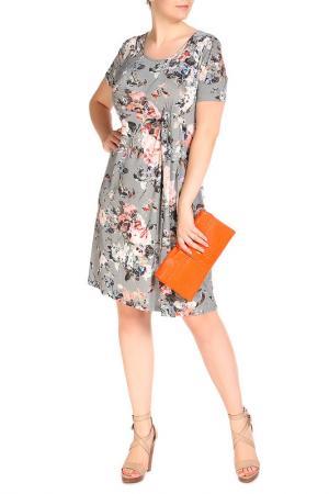 Платье LOLA PALTINGER. Цвет: серый