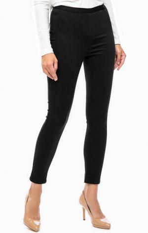 Черные эластичные брюки Mavi. Цвет: черный