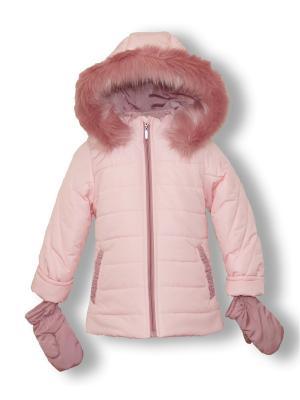 Куртка Артус. Цвет: бледно-розовый
