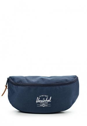 Сумка поясная Herschel Supply Co. Цвет: синий