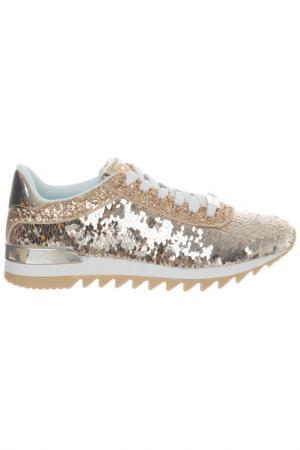 Sneakers Laura Biagiotti. Цвет: gold
