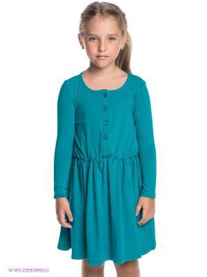 Платье Vika Smolyanitskaya. Цвет: бирюзовый