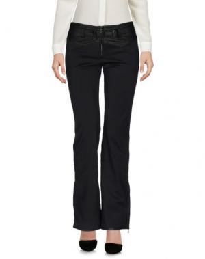Повседневные брюки KRU. Цвет: черный