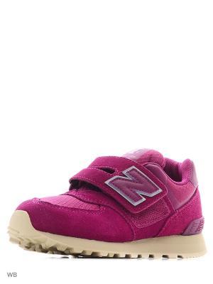 Кроссовки New balance. Цвет: фиолетовый
