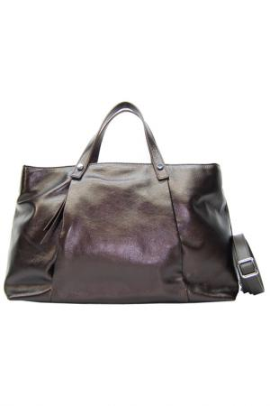 Bag Plinio Visona. Цвет: dark brown