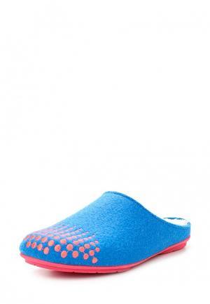 Тапочки Costa. Цвет: голубой
