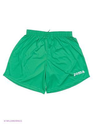 Шорты Real Joma. Цвет: зеленый