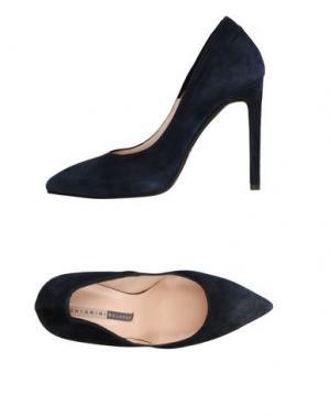 Туфли CHIARINI BOLOGNA. Цвет: темно-синий