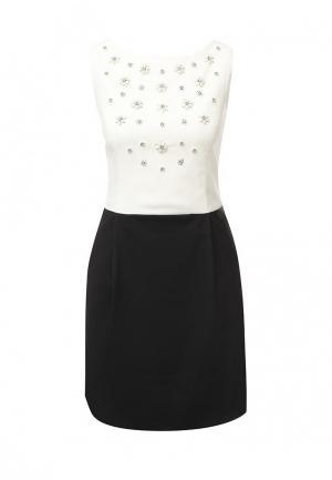 Платье Conver. Цвет: черно-белый
