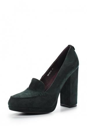 Туфли Dino Ricci Select. Цвет: зеленый