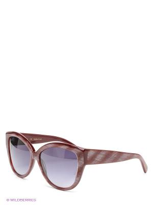 Солнцезащитные очки Borsalino. Цвет: бордовый