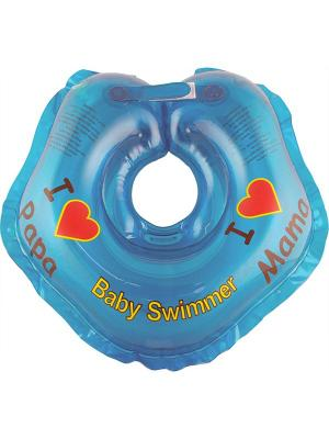 Круг голубой (полноцвет) Baby Swimmer. Цвет: голубой