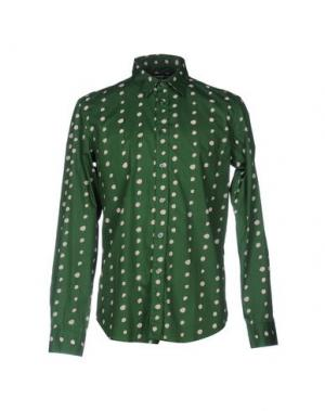 Pубашка DEPARTMENT 5. Цвет: зеленый