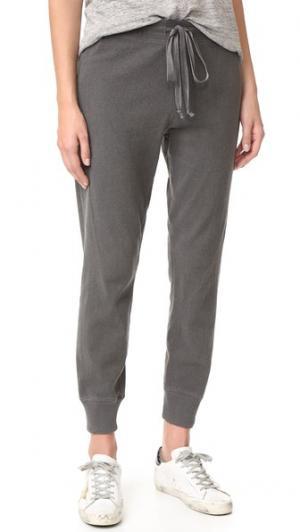 Укороченные спортивные брюки Twist Wilt. Цвет: серый