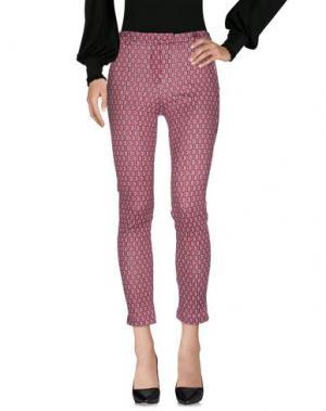 Повседневные брюки W!K!. Цвет: пурпурный