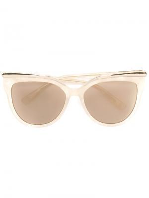 Солнцезащитные очки Cat Eye Rim MCM. Цвет: телесный