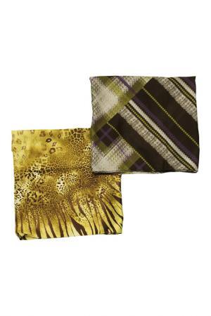 Набор: шарф и платок Frantelli. Цвет: салатовый