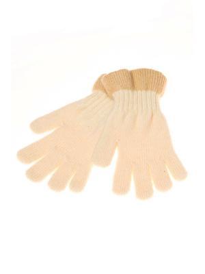 Перчатки Shapkoff. Цвет: кремовый, бежевый