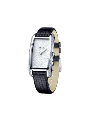Часы ювелирные коллекция Favorite game SOKOLOV. Цвет: черный, белый
