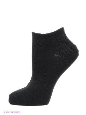 Носки, 2 пары HOSIERY. Цвет: черный